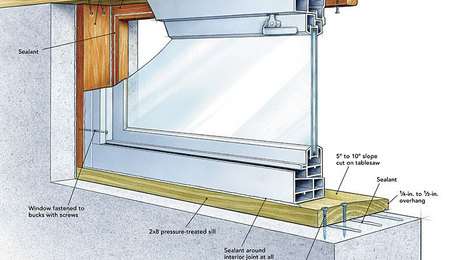 replacing a basement window fine homebuilding replace metal basement windows concrete install basement window concrete