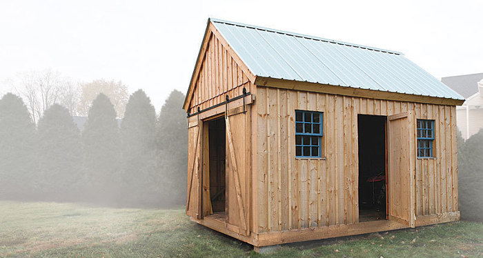 Synopsis: Can A Shed Be Stylish And Affordable? That Was The Question That  Spurred The Design Of This Traditionally Styled Backyard Storage Shed.
