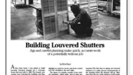Shutters Fine Homebuilding