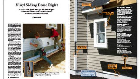 Vinyl siding done right fine homebuilding for House wrap definition