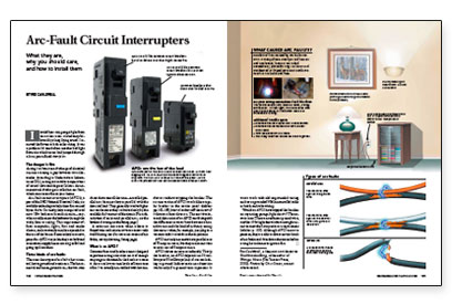 arc-fault circuit interrupters