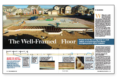 Well-framed floor pdf spread image
