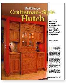 Synopsis: Cabinetmaker Rex Alexander Replaces A Dining Room Closet With A  Beautiful Built In Made From Plywood Boxes And Manufactured Doors And  Drawer ...
