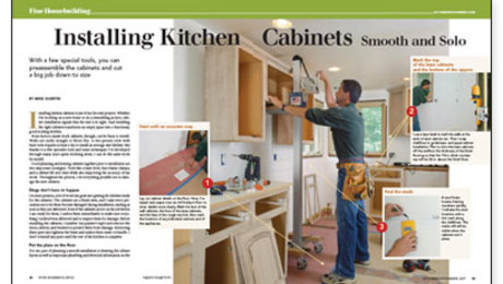 installing kitchen cabinets smooth and solo fine homebuilding