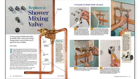 Replace a Shower Mixing Valve   Fine Homebuilding