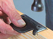 Mortising A Hinge With A Chisel