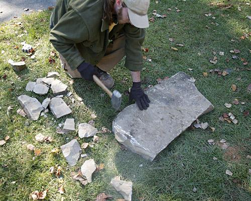 Breaking Big Stones Fine Homebuilding