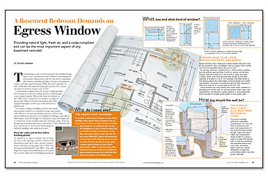 A basement bedroom demands an egress window fine for Egress window requirements for bedroom