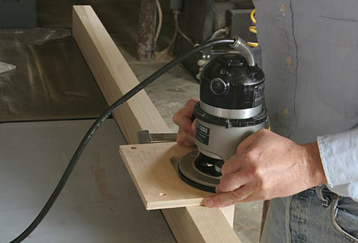 A Custom Hinge Mortising Template - Fine Homebuilding