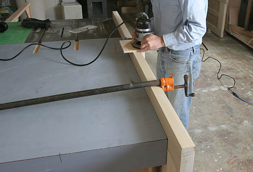 A Custom Hinge Mortising Template - Fine Homebuilding
