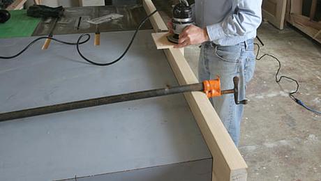 A Custom Hinge Mortising Template Fine Homebuilding