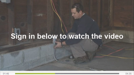 VIDEO SERIES: How To Install Conduit, Wiring, and Light Switches ...