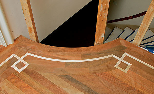 Cutting And Bending Curved Floor Parts Fine Homebuilding