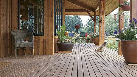 deck stain versus sealer