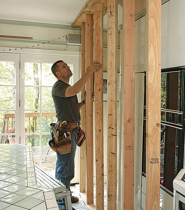 Exterior House Patterns: Build A Temporary Brace Wall