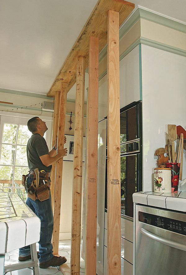 Build A Temporary Brace Wall