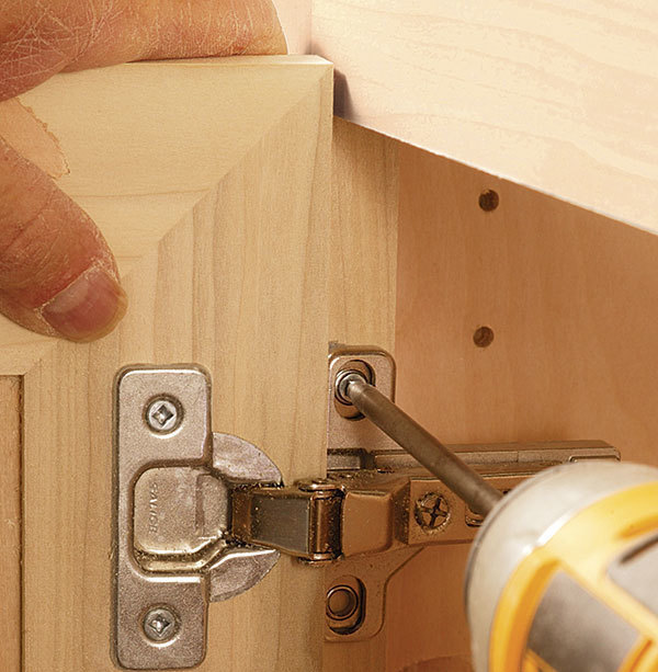How To Install European Cup Hinges Fine Homebuilding