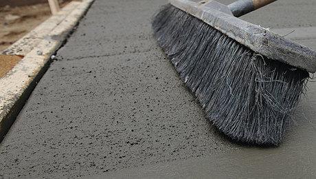 Broom Finished Concrete Flat Work Fine Homebuilding