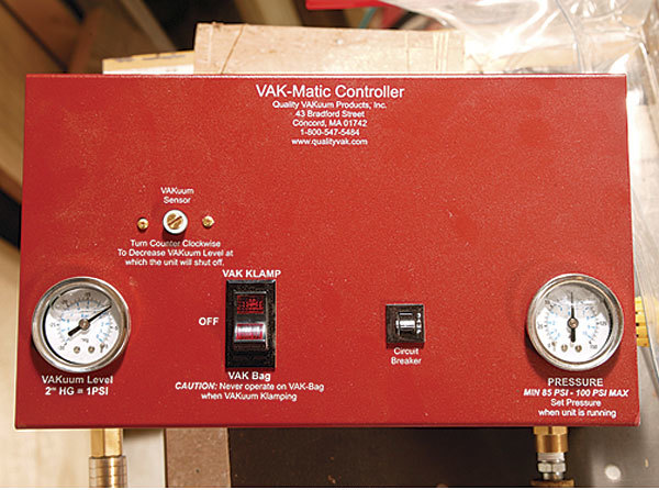 Pro VM4, a 2-hp model from Quality Vakuum Products (www.qualityvak.com) for $570.