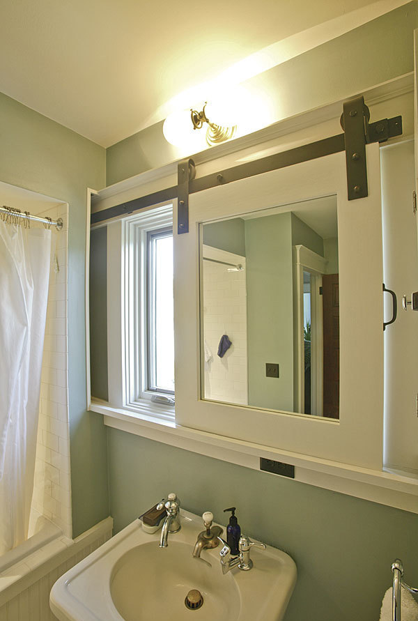 Slide To Hide The Mirror Fine Homebuilding