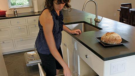 Dish Rack In A Drawer Fine Homebuilding