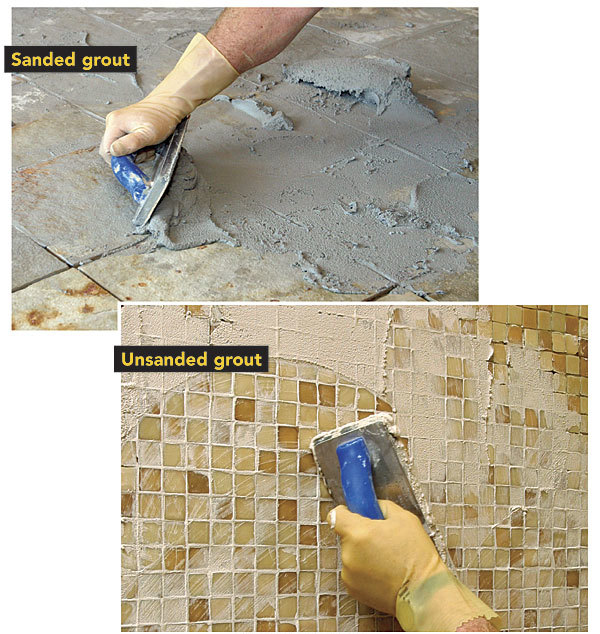 Whats The Difference Sanded Vs Unsanded Fine Homebuilding - Best non sanded grout