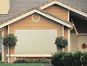 exterior blinds by Coolaroo
