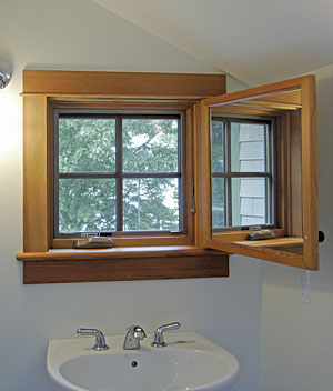 bathroom window ideas small bathrooms. Interesting A Surprise Window In Small Bath With Bathroom Designs  Talentneeds Com
