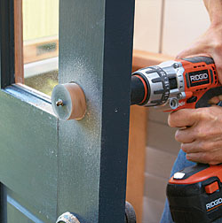 Prep Doors for Knobs and Dead Bolts - Fine Homebuilding