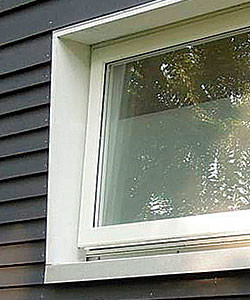 alvanized steel or copper can protect the framing from water intrusion while adding character to the exterior.