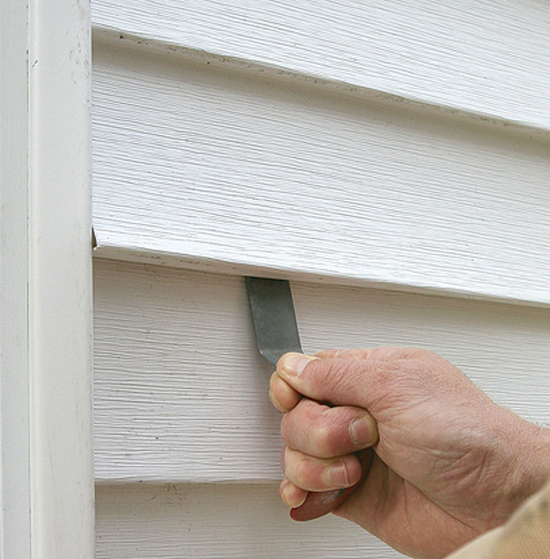 Removing Vinyl Siding Fine Homebuilding