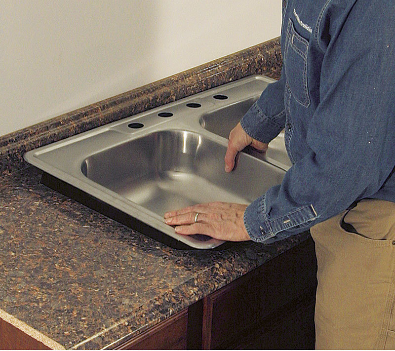 Cut A Laminate Countertop For A Sink Fine Homebuilding