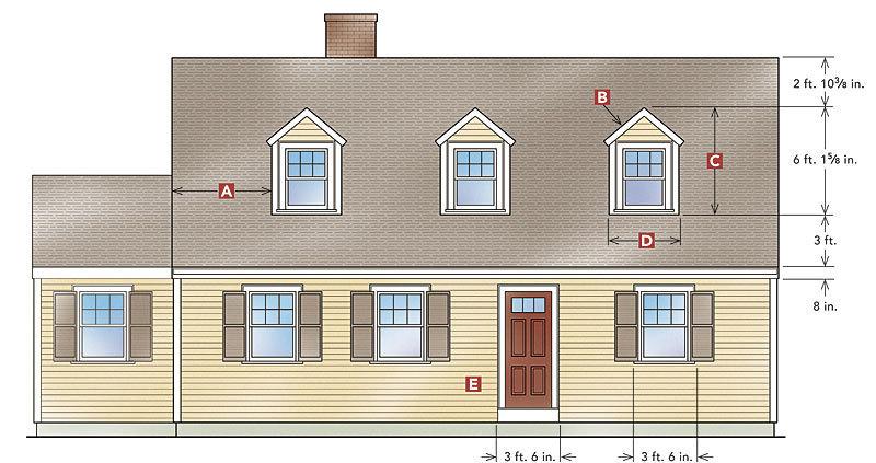 Designing Gable Dormers Fine Homebuilding