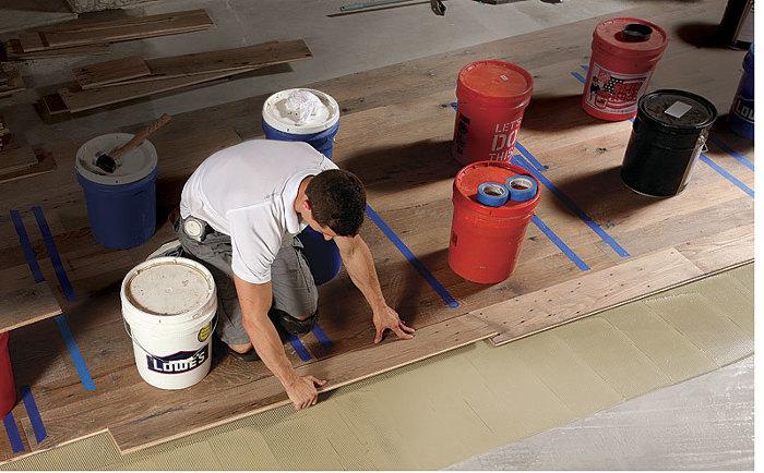 Installing Engineered Flooring On A Concrete Slab Fine Homebuilding