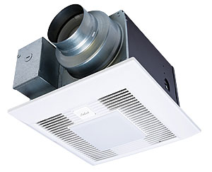 A Smarter Fan. With An Electronically Commutated Motor, The Panasonic  WhisperGreen Select Boosts Fan Speed Automatically To Compensate For Static  Pressure ...
