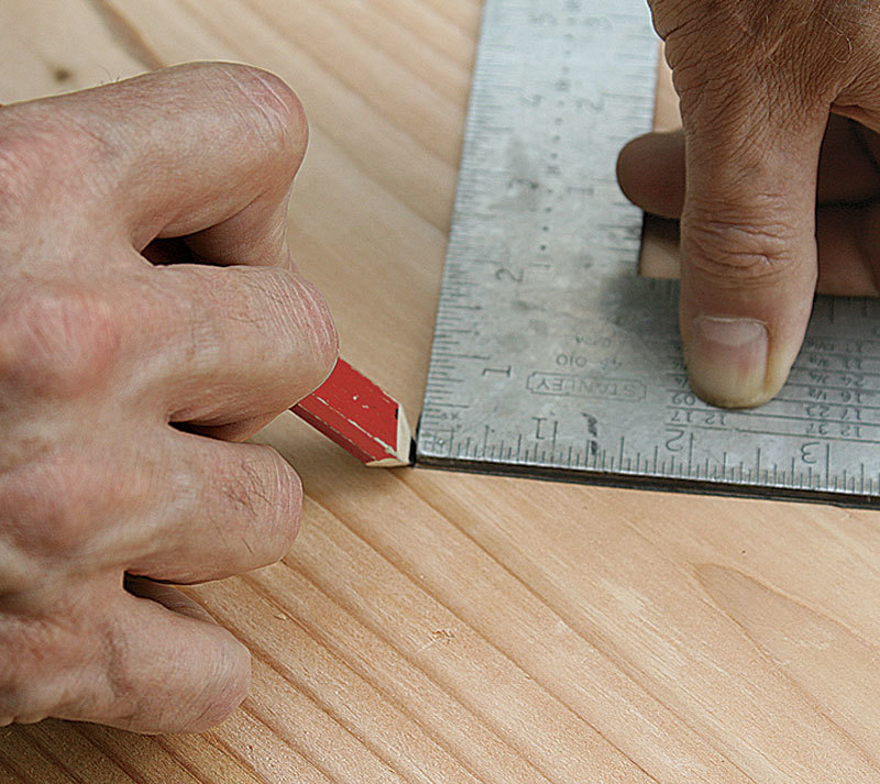 Laying Out Basic Stair Stringers - Fine Homebuilding