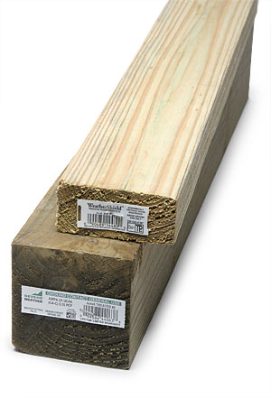 What S The Difference Pressure Treated Lumber Fine