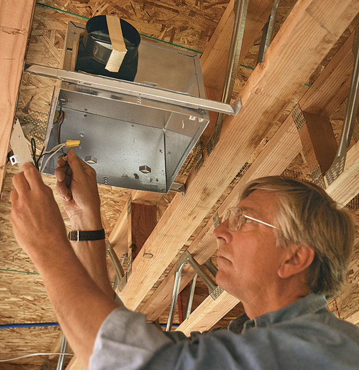 Wiring A Bathroom Fine Homebuilding - Electrical code for bathroom outlets