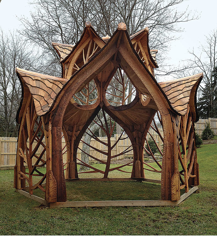 New-Life Gazebo - Fine Homebuilding