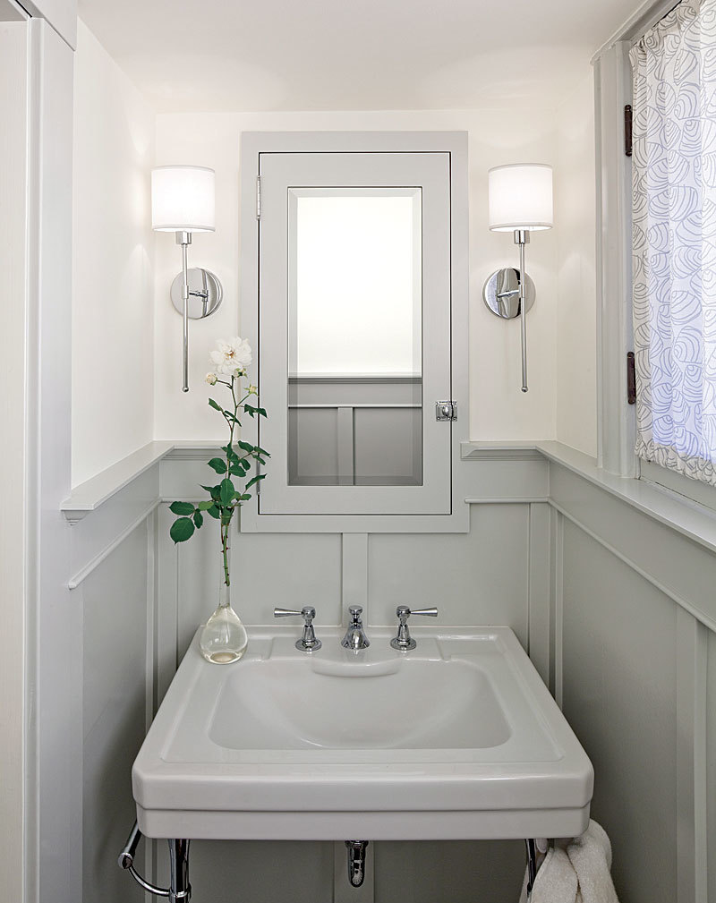 Small Powder Rooms - Fine Homebuilding