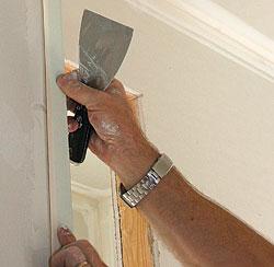 Drywall Finishing An Outside Corner Fine Homebuilding