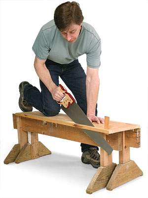 Cutting With A Handsaw Fine Homebuilding