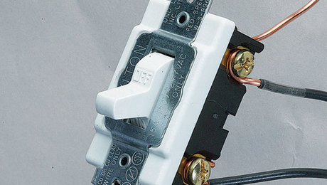 Wiring a Single-Pole Switch - Fine Homebuilding on