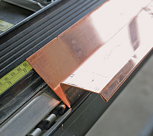 Using A Sheet Metal Brake Fine Homebuilding