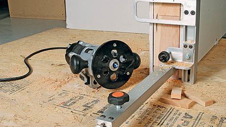 Fuss-free door hangeru0027s jig & Door Hanging Tools - Fine Homebuilding