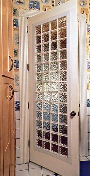 Glass Block Doors Made Easy Fine Homebuilding