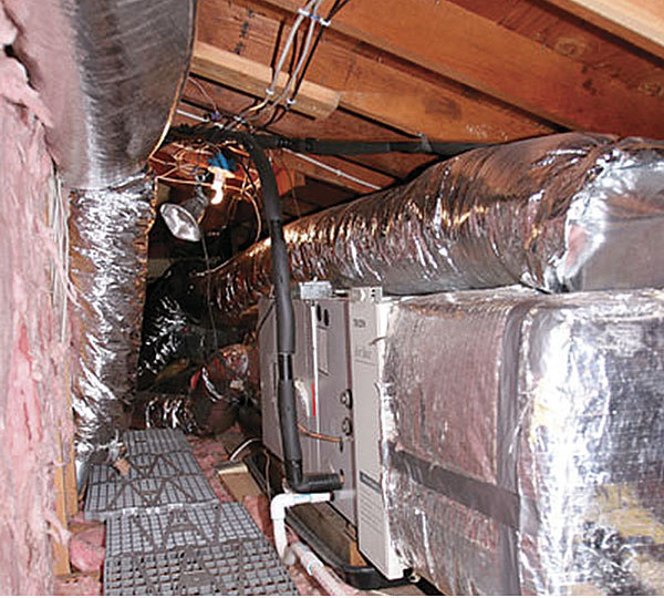 Air Conditioner In An Unconditioned Attic Fine Homebuilding