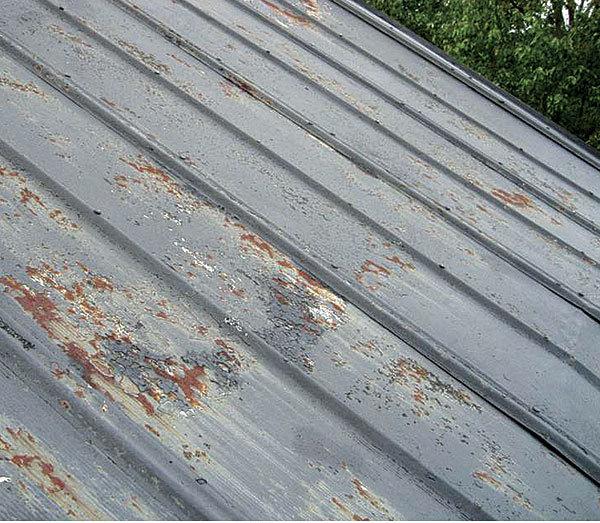 Rusty Metal Roof Fine Homebuilding