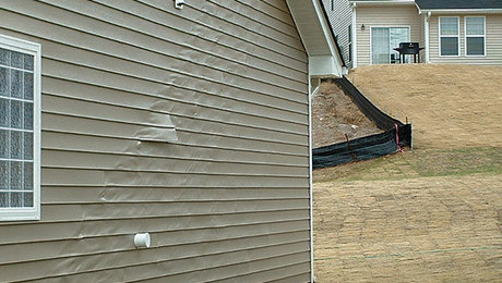Melted Vinyl Siding Fine Homebuilding