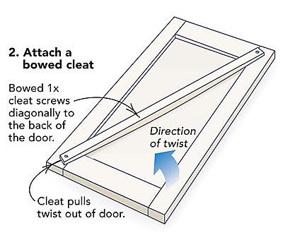 Fixing Warped Cabinet Doors Fine Homebuilding